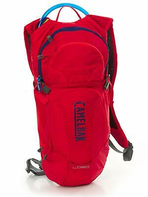 Camelbak Lobo 3L Hydration Pack Red Crux Resevoir Cycling Outdoors Bag • 51.99£