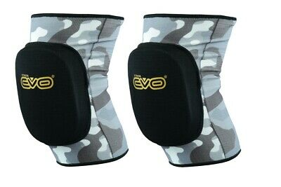EVO Knee Pads Brace Support Elasticated MMA Gym Work Volleyball Wrestling Guard  • 6.99£