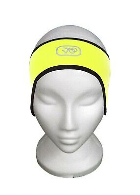 Cycling Band Bike Winter Thermal Ear Warmer And Headband 2 In 1 Large • 1.99£
