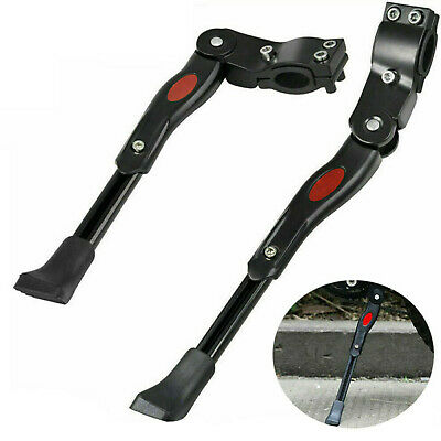 Heavy Duty Adjustable Mountain Bike Bicycle Cycle Prop Side Rear Kick Stand • 7.95£