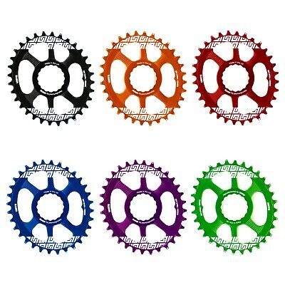UNITE CO Race Face Cinch Mount Oval Chain Ring UK Made Thick Thin Eagle • 34.99£