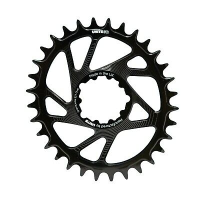 UNITE Sram Direct Mount Oval Chain Ring UK Made Thickthin Eagle Chainring • 34.99£