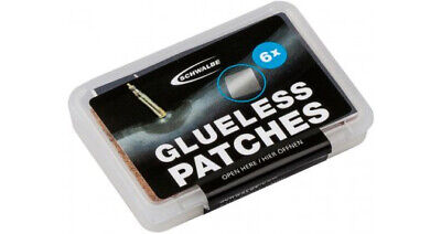Bike Puncture Repair Kit Schwalbe Glueless Patches Pack Of 6 Clear • 5.88£