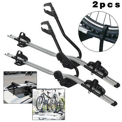2 Bicycle Bike Car Cycle Carrier Rack Universal Fitting Saloon Hatchback • 71.09£