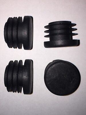 10x Handle Bar End Caps - Robust Plastic Barend Plugs For Bike / Scooter Grips • 4.75£
