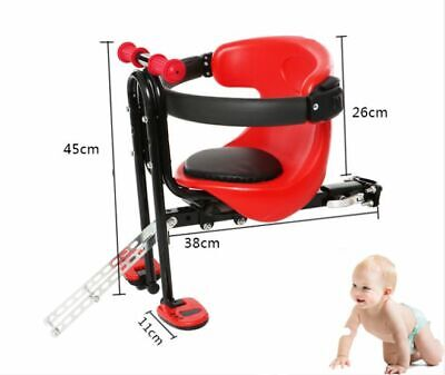 Bike Bicycle Baby Safety Front Seat Child Chair Kid Carrier Sport Stable Seats • 39.99£