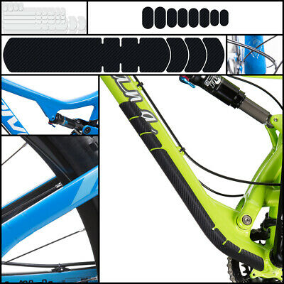 Quality Lizard Skins Adhesive Bike Frame Protection: UV Clear Or Carbon Leather • 17£