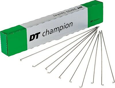 DT Swiss Champion Silver , 10 Spokes And Nipples. Size 240 Mm • 4.99£