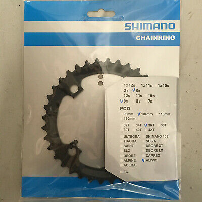 Bike Chain Ring Shimano FCM431 Alivio Triple Middle • 6.99£