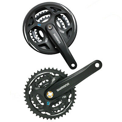 Shimano Altus Chainset M311 MTB Square Taper With Chainguard • 28.99£