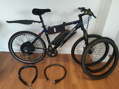 VERY FAST 1000w 48v Electric Bike + Charger + Extras • 1,000£