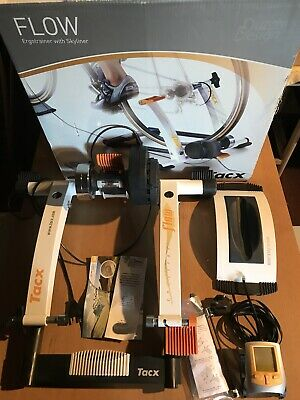 TACX Flow Ergotrainer With Skyliner - TURBO TRAINER - Lightly Used - Boxed • 42£