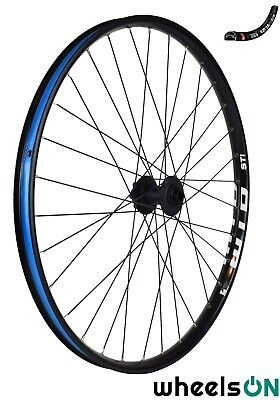 27.5 Inch 650b WTB STi29 Front Wheel 15 Mm Thru Axle 100mm Spacing Black Disc • 63.88£