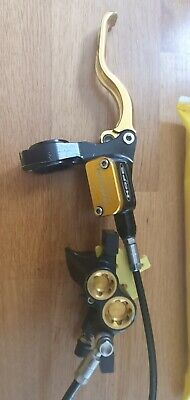 Hope Mono Mini 4 Rear Disc Brake And Hope Left Hand Mini Lever In Gold  • 19£