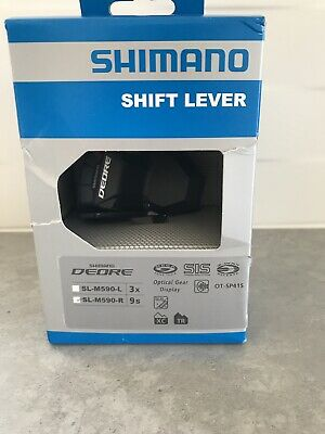 Shimano Deore SL-M590 Shift Lever With Inner Cables, 3x9 Speed, Right. • 12£
