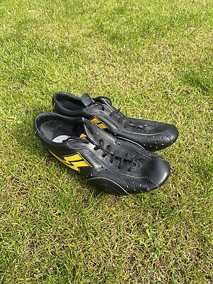 Duegi Leather Italian Vintage Cycling Shoes • 20£