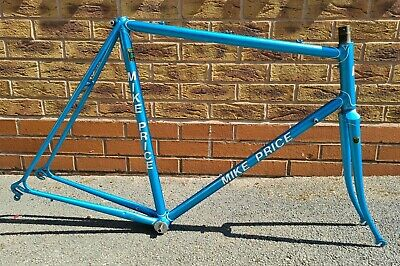 56cm REYNOLDS 531 ROAD FRAMESET WITH COLUMBUS DROPOUTS GOOD/VERY GOOD CONDITION • 89£