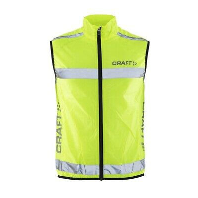 CRAFT Active Hi-Vis Safety Reflective Vest/Gilet For Walking, Running & Cycling • 16.95£