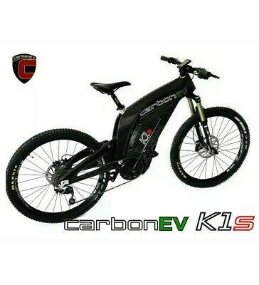 CarbonEV K1s EBike - Full Carbon Fiber Electric Bike  • 14.99£
