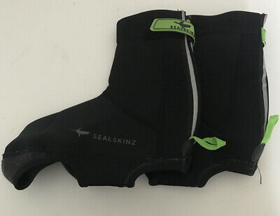 Sealskinz Neoprene Overshoes Cycling Bicycle Size M • 13£
