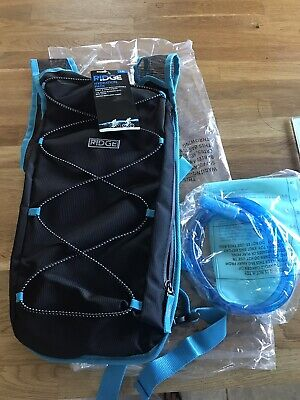 Ridge Hydration Pack 1.5L Black/Blue New With Tags • 14£