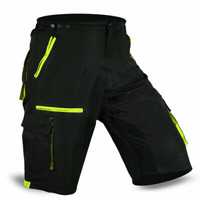 MTB Cycling Shorts Off Road Cycle Bicycle CoolMax Padded Liner Short  • 16.99£