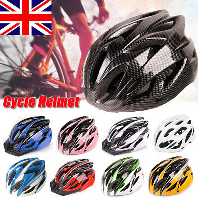 Bicycle Helmet Bike Cycling Adult Unisex Safety Adjustable Helmet Outdoor Sports • 7.99£