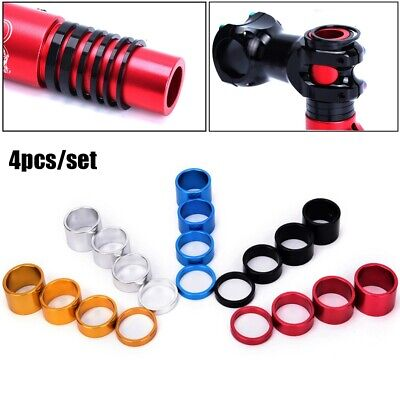 MTB Cycling Road Bike Parts Washer Cap Bicycle Fork Washers Headset Stem Spacer • 3.08£