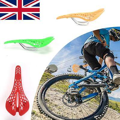 MTB Saddle Mountain Bike Seat Road Cycling Bicycle Comfortable Breathable Pads • 4.59£