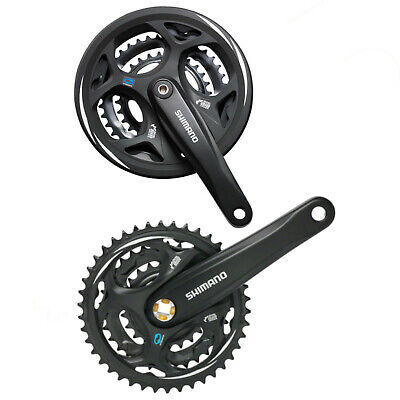 Shimano Altus Chainset M311 MTB Square Taper With Or Without Chainguard • 28.99£