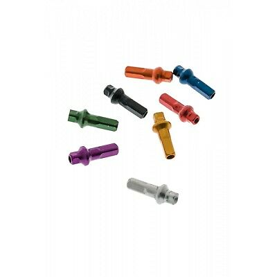 Sapim Double Square Alloy 7075 Alloy Nipples Polyax - ( All Colours ) • 14£
