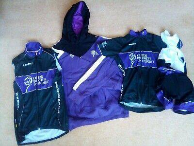 Womens Unused Cycling Tops Size 10 - Leeds Beckett Logo But Perfect Condition • 6.90£