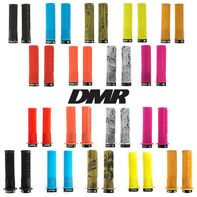 DMR Brendog Deathgrips Mountain Bike Handlebar Grips Race Thick Thin DH Enduro • 17.89£