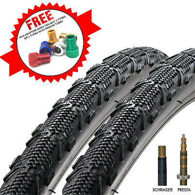 Duro Ellie Mae 700 X 35C CX, Hybrid & Commuting Bicycle Tyres With Inner Tubes • 19.99£