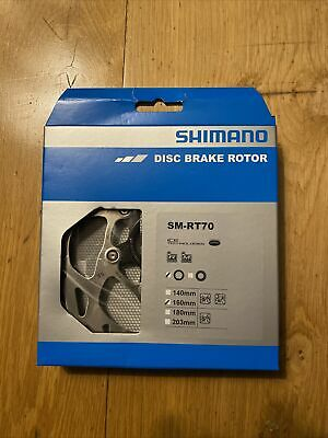Shimano SM-RT70 - Ice-Tech Center Lock Brake Disc Rotor 146mm (new And Boxed) • 12.60£