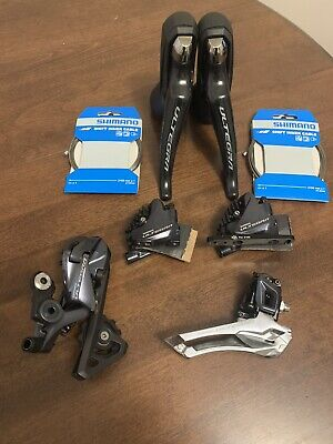 Shimano Ultegra RD-R8020 Mechanical With Hydraulic Brakes Shifter Set Complete. • 180£