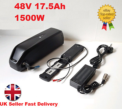 48V 17.5ah Hailong Battery Case Electric Bike Battery Made With Samsung 35E Cell • 349.99£