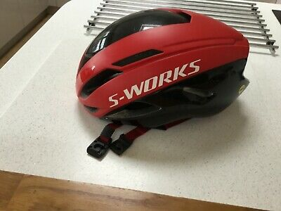 Specialized S Works Evade 2 Helmet.Size Large MIPS Red / Black. • 120£