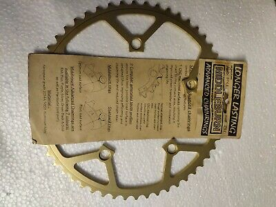 Middleburn Chainring 53t 130mm BCD Gold Anodised Alloy • 25£