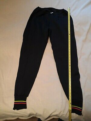 Lusso Cycling Trousers, Black, Size Large. • 4.50£