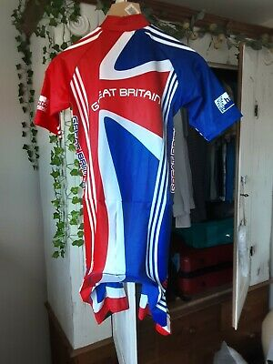 British  Cycling  Team Skin Suit  New Old Stock  Size M • 25£