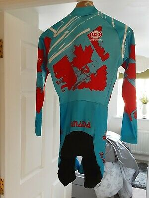 Canadian Team Cycling Skin Suit  SIZE M  Rare  • 25£