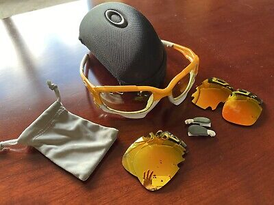 Oakley Jawbreaker Glasses With Case And Spare Lens • 29.40£