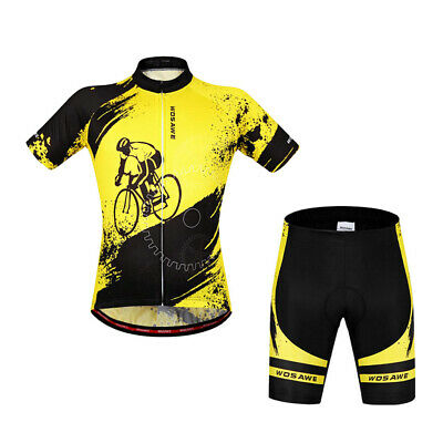 Cycling     Jersey     Set     Quick  -  Dry     Road     MTB     Bike     • 25.37£