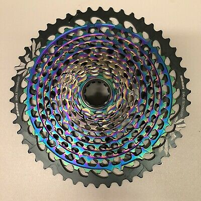 SRAM XX1 Eagle XG-1299 12 Speed Cassette - Rainbow • 285£