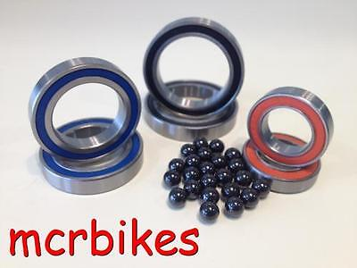 6902 / 61902 2rs Bearings Chrome / Stainless Steel & Hybrid Ceramic Sealed  • 4.99£
