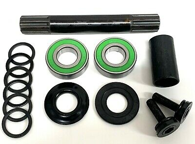 Sealed Bmx Bike Mid Bottom Bracket Bb Set, With Or Without 19mm Axle. Free P&p! • 12.99£