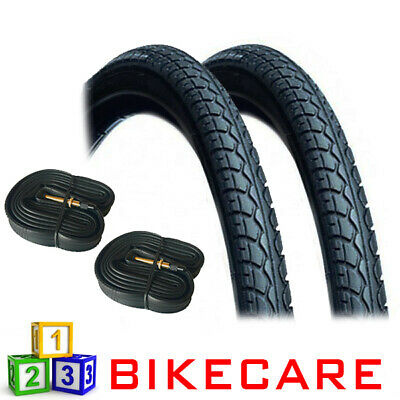 Pair Of 26x1.50 Bike Road/Land Tyre With Tyre Tubes VC-5022 • 32.95£