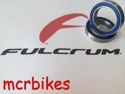 Fulcrum Quattro Wheel Hub Bearing Kits (r4-004) Chrome /stainless /h Ceramic • 15.49£