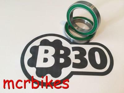 BB30 Bearings (X2) Steel /Chrome/ Stainless /Ceramic Cannondale -FSA -Race Face • 19.98£